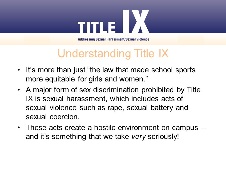 Our Title IX Coordinator Here on campus, our Title IX Coordinator is Troy Boquette, Executive Dean of Students I am available to you and oversees all Title IX complaints and investigations to provide prompt, fair and equitable resolutions.