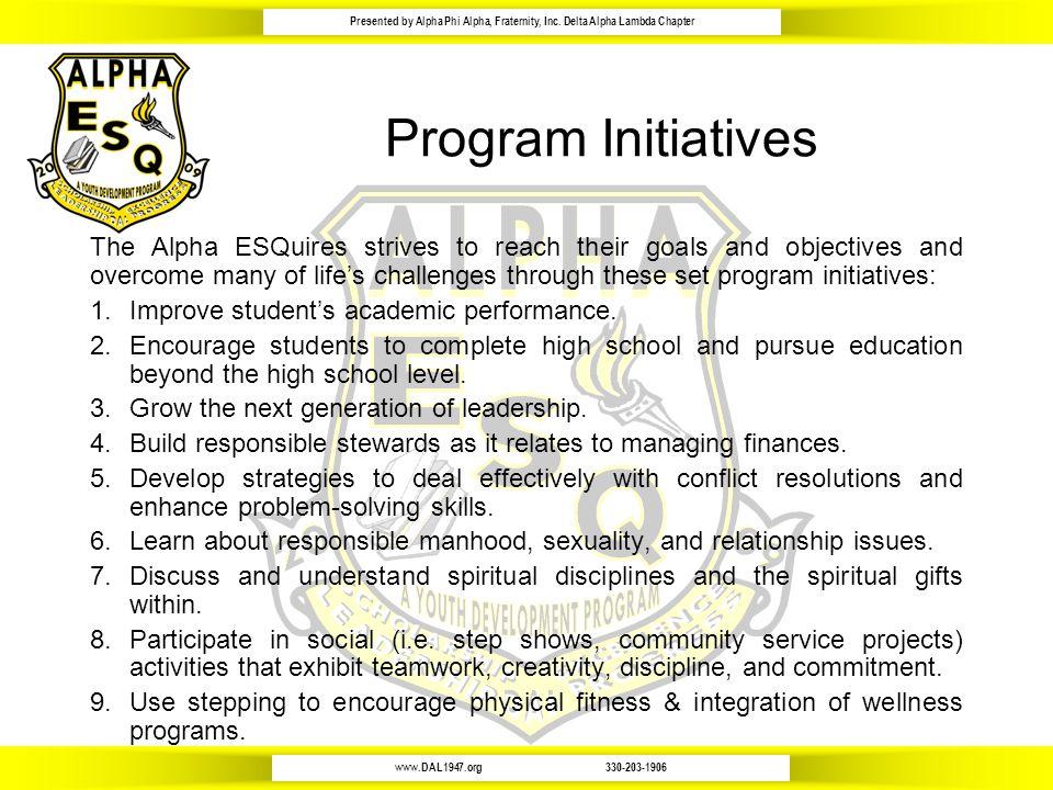 www.DAL1947.org330-203-1906 Presented by Alpha Phi Alpha, Fraternity, Inc.