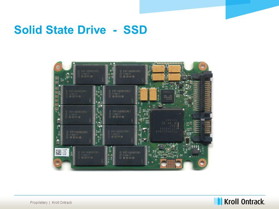 Proprietary | Kroll Ontrack Solid State Drive - SSD