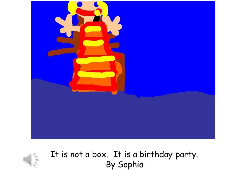 It is not a box. It is a panda in the forest. By Fallon