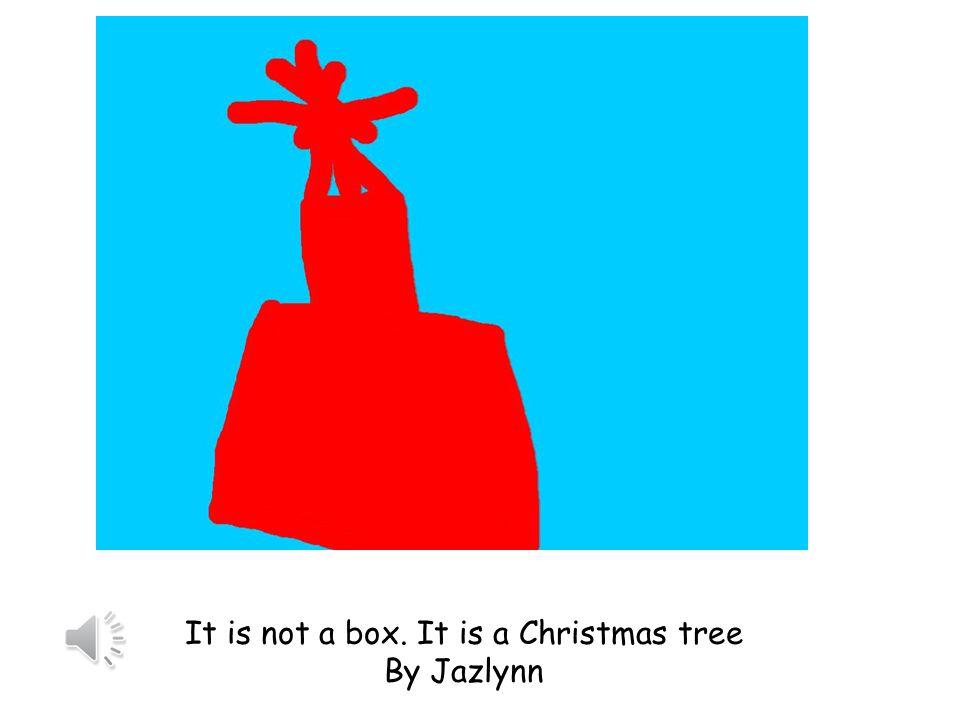 It is not a box. It is a car. By Matthew