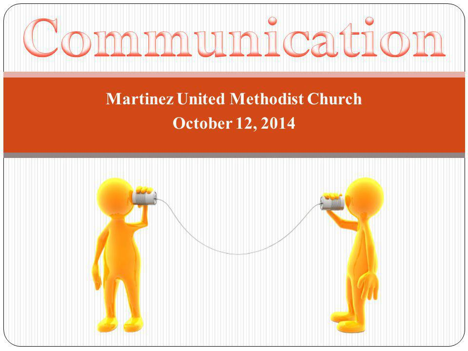 Martinez United Methodist Church October 12, 2014