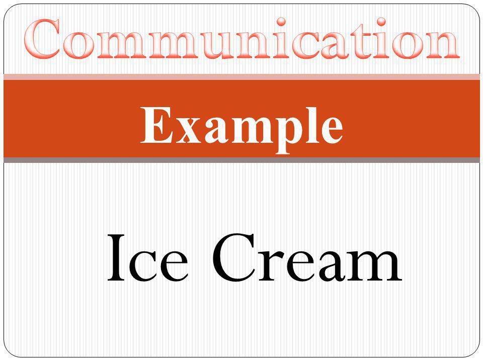 Example Ice Cream