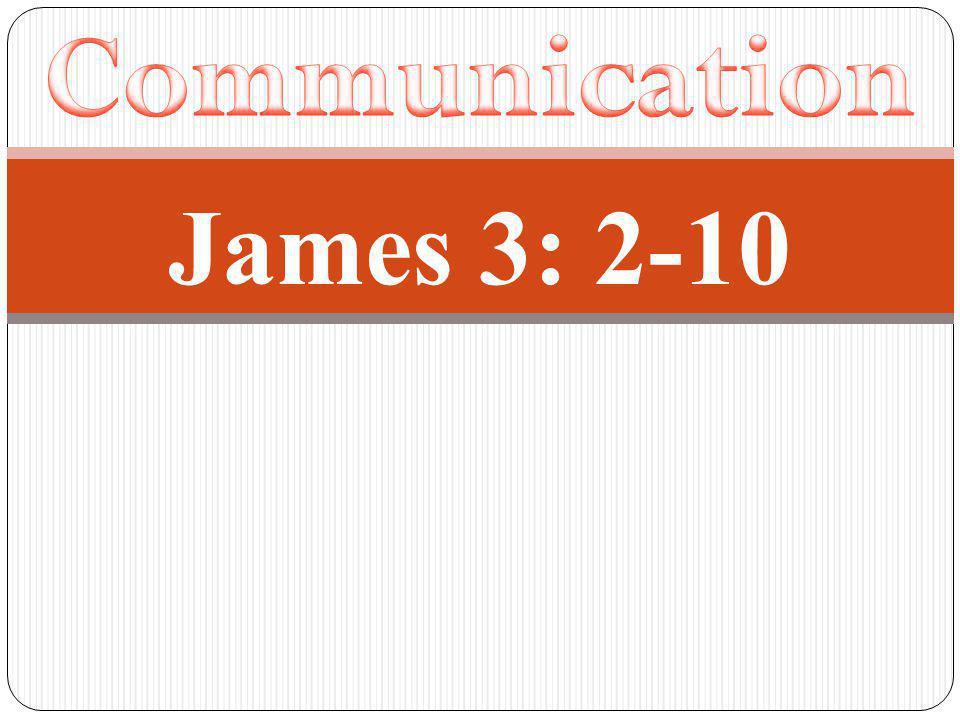 James 3: 2-10