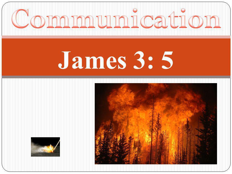 James 3: 5