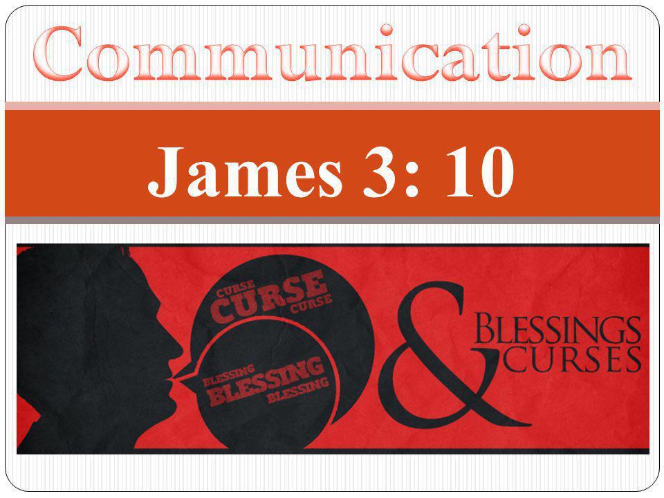 James 3: 10