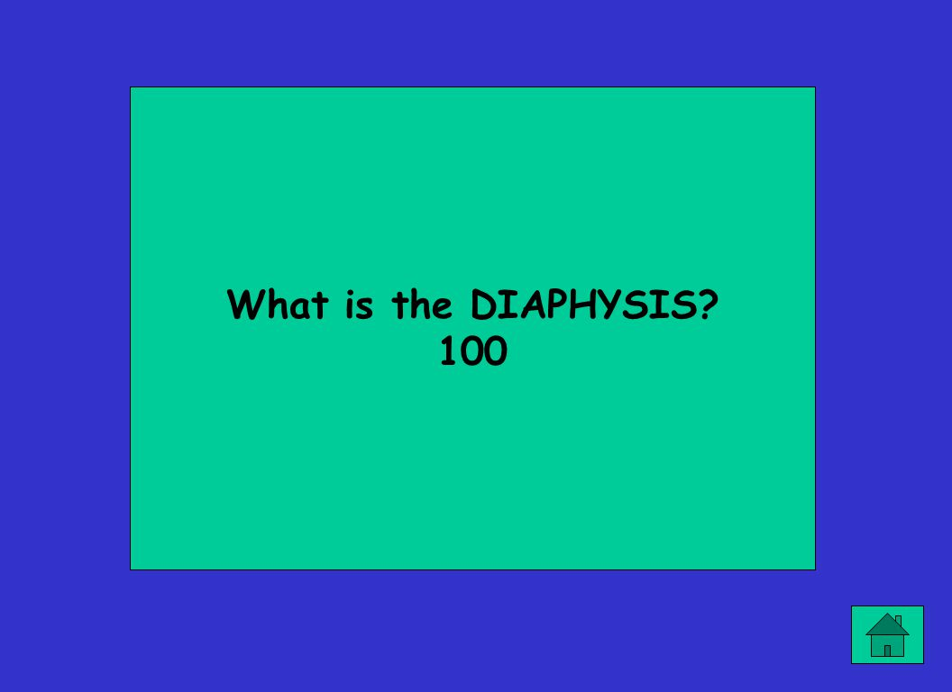 What is the DIAPHYSIS? 100