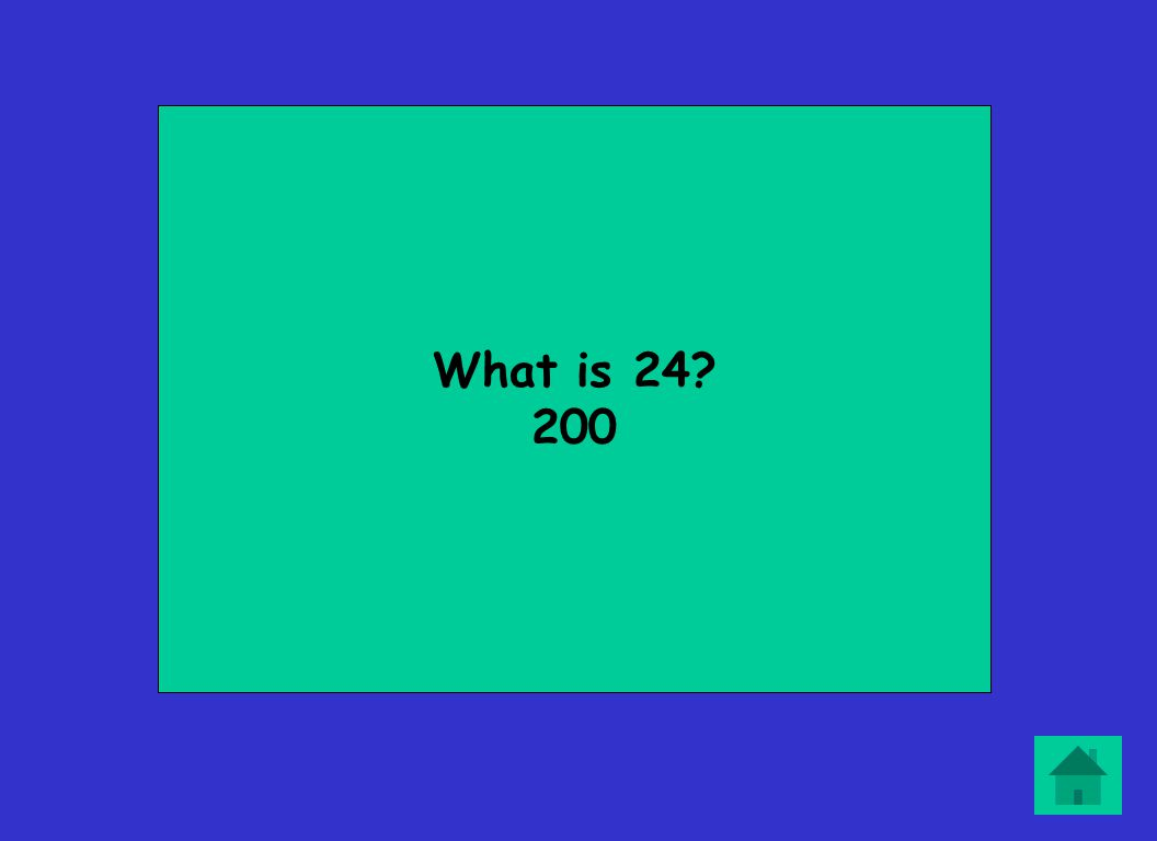 What is 24? 200