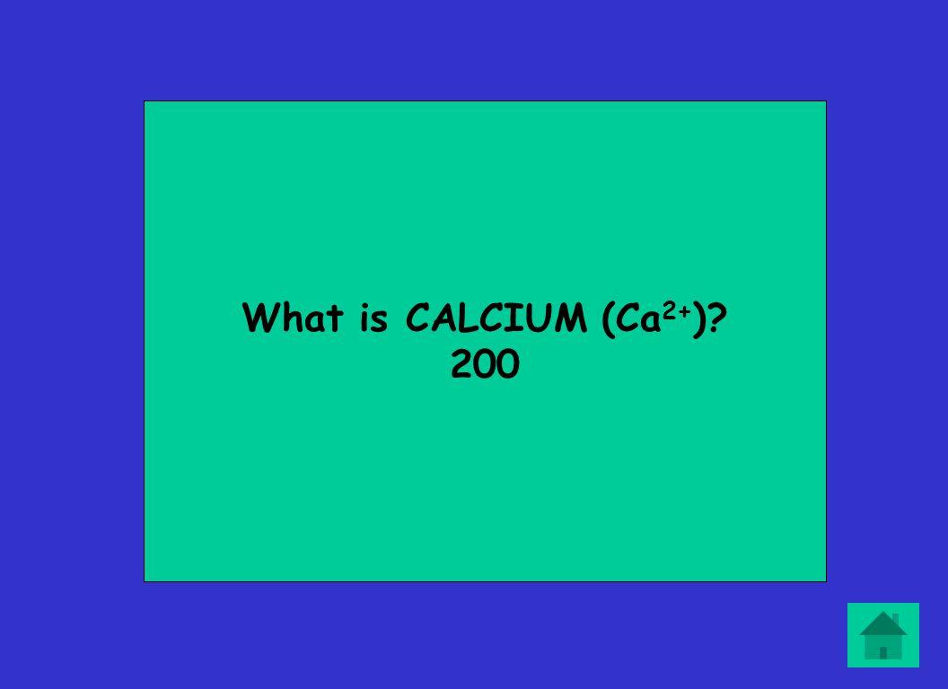 What is CALCIUM (Ca 2+ ) 200