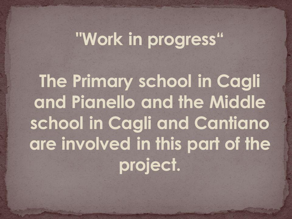 WORK IN PROGRESS PIANELLO PRIMARY SCHOOL THE PUPILS HAVE STARTED TO INVESTIGATE THE WORK OF THE ARTIST BERNARD PRAS …..