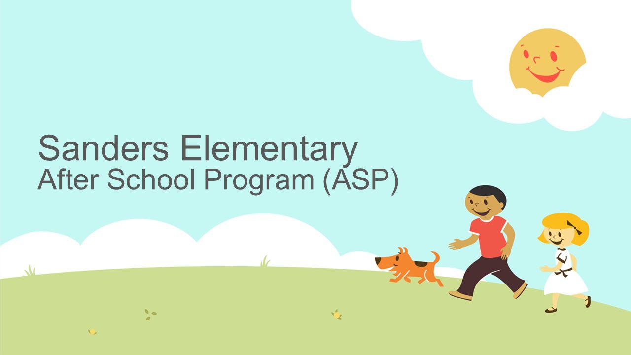 Sanders Elementary After School Program (ASP)