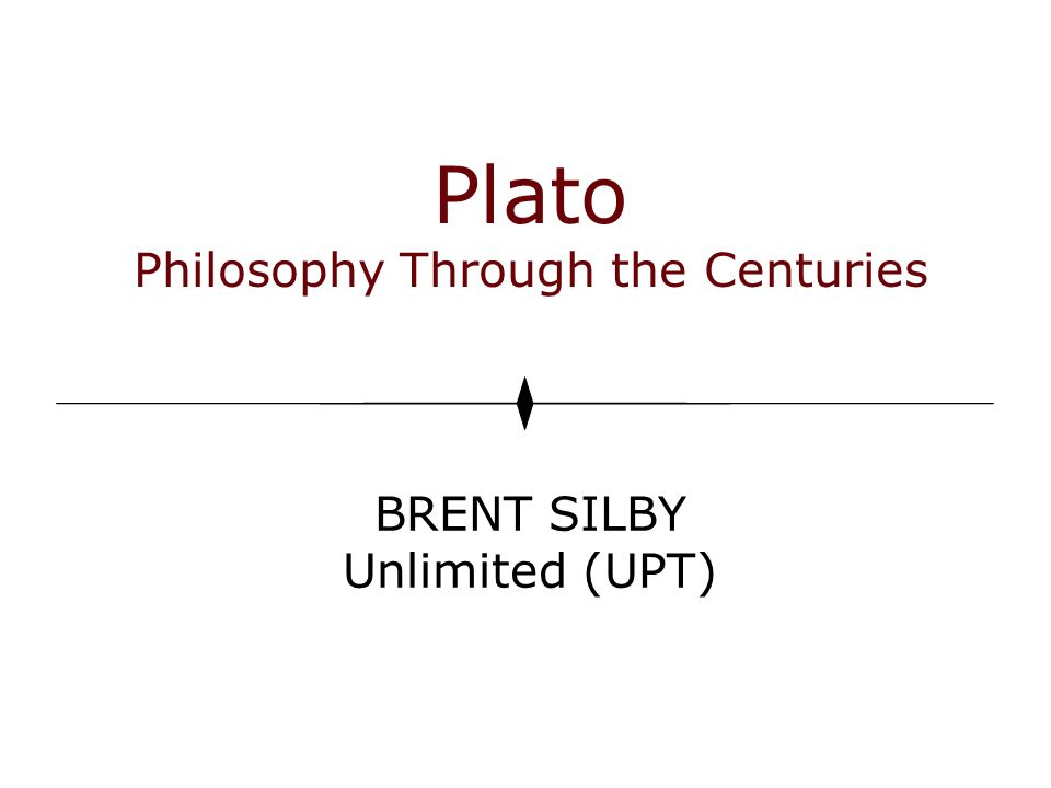 Plato ' s analogy of the cave.