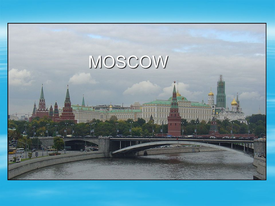 The Great Kremlin Palace was the tsar's residence in Moscow.