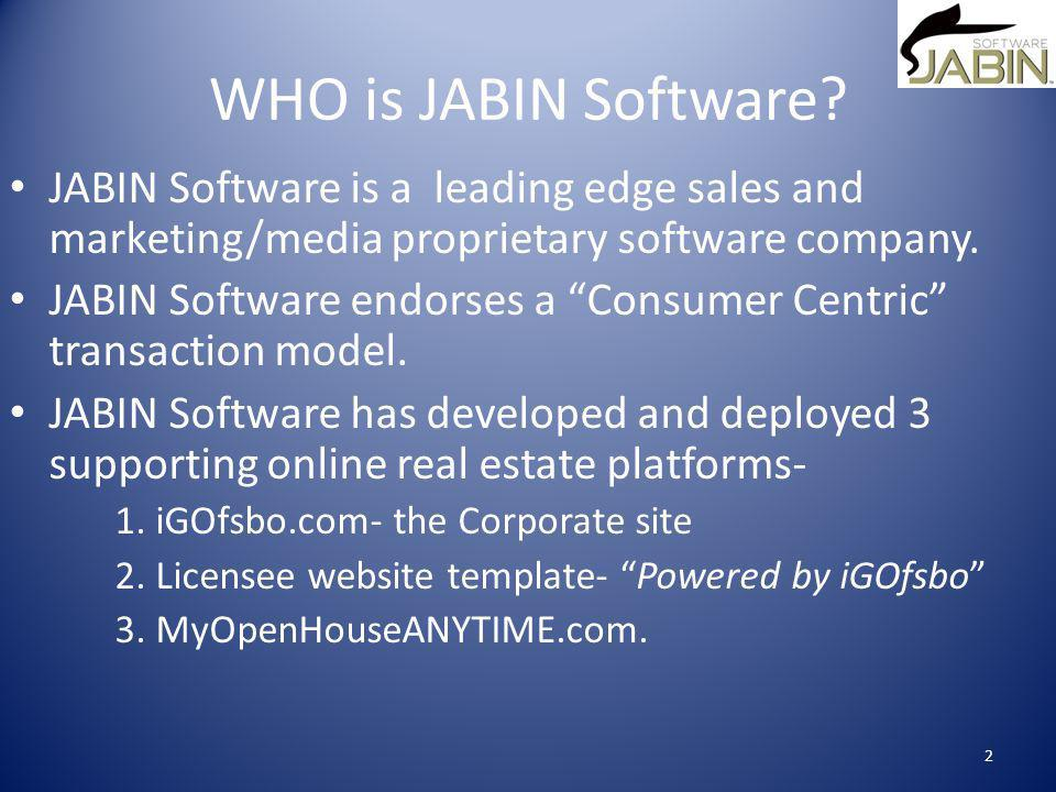 WHO is JABIN Software.