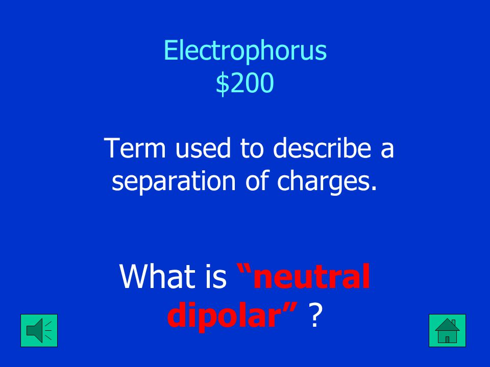 "Electrophorus $100 The reason the electrophorus is held by the styrofoam cup. What is ""to prevent grounding of the charge"" ?"