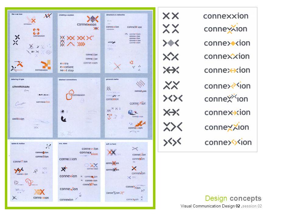 Design concepts Visual Communication Design 02.session.02