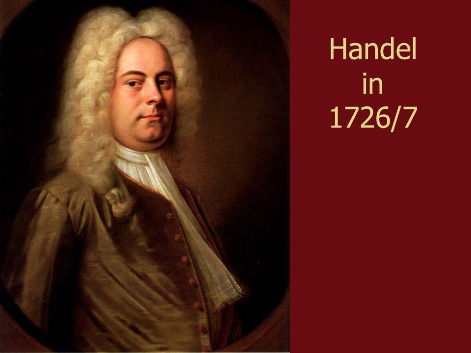 Handel in 1726/7