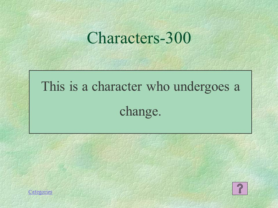 Categories What is a round character Characters--200