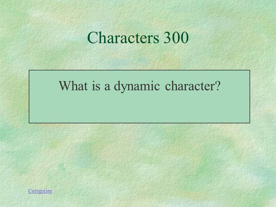 Categories Characters-300 This is a character who undergoes a change.