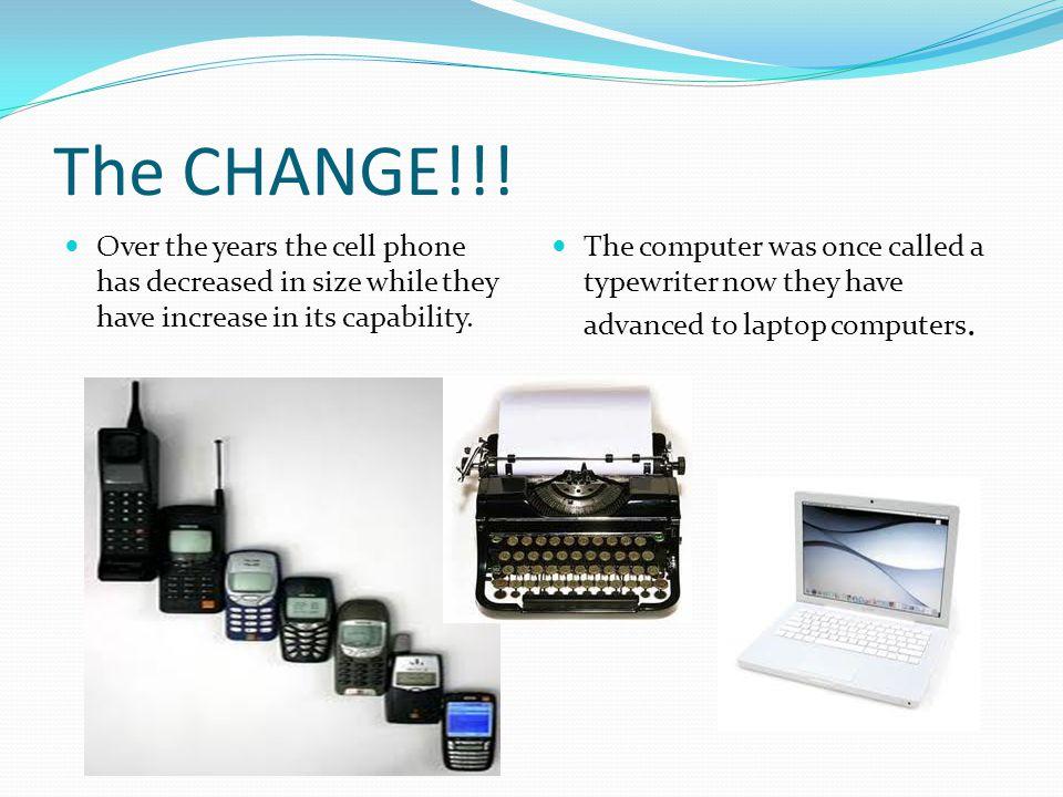 The CHANGE!!.