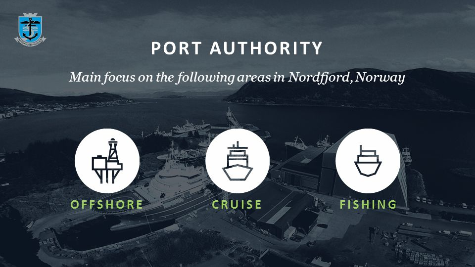 PORT AUTHORITY OFFSHORECRUISEFISHING Main focus on the following areas in Nordfjord, Norway