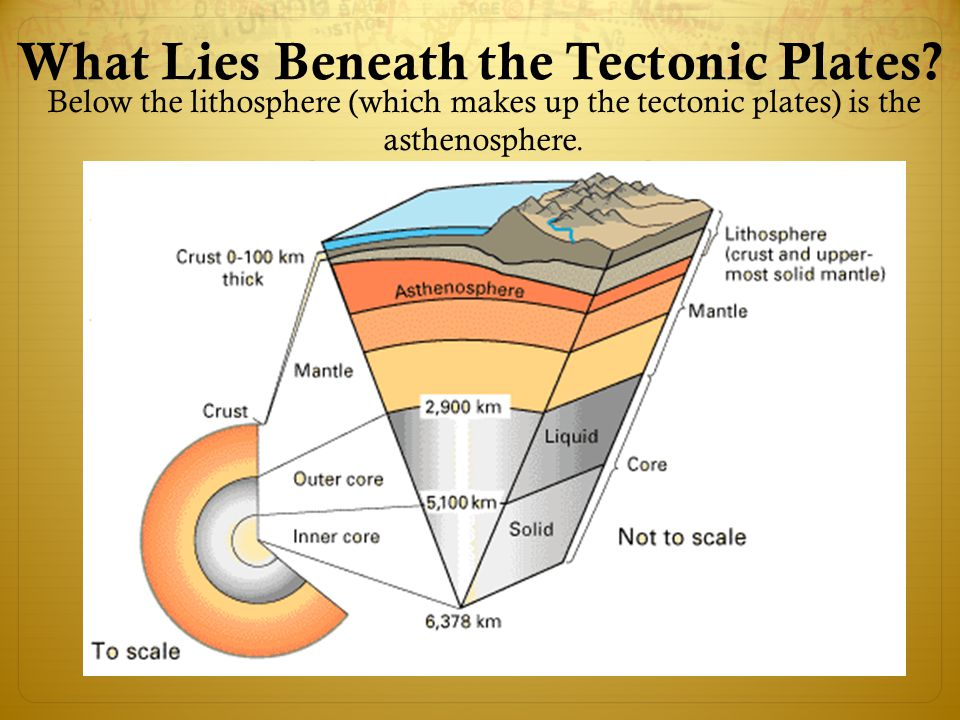 What Lies Beneath the Tectonic Plates.
