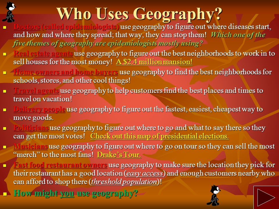 Why is Geography Important.