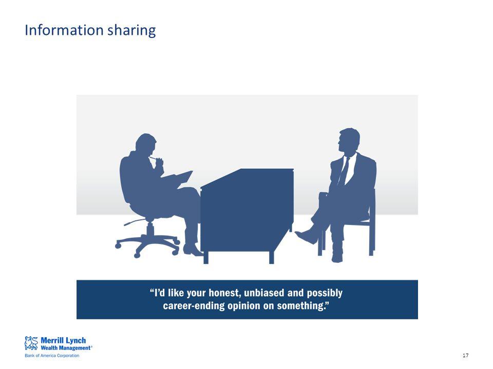 17 Information sharing