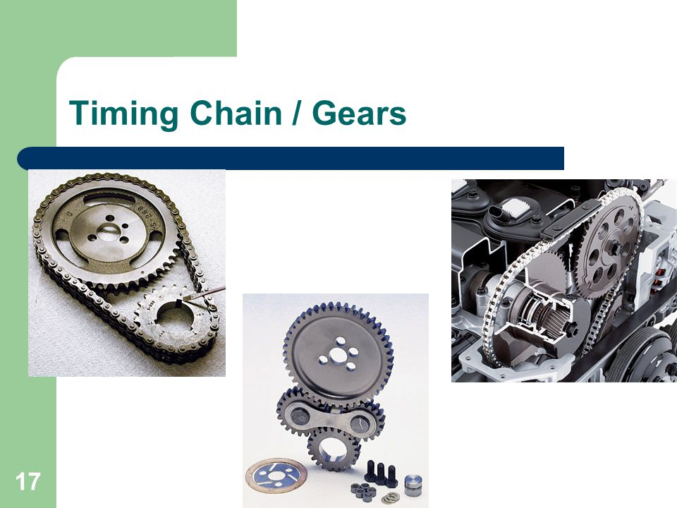 17 Timing Chain / Gears