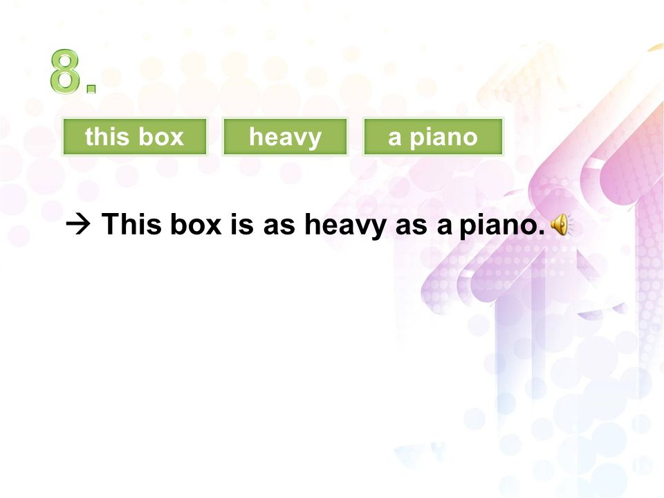 this boxheavya piano  This box is as heavy as a piano.