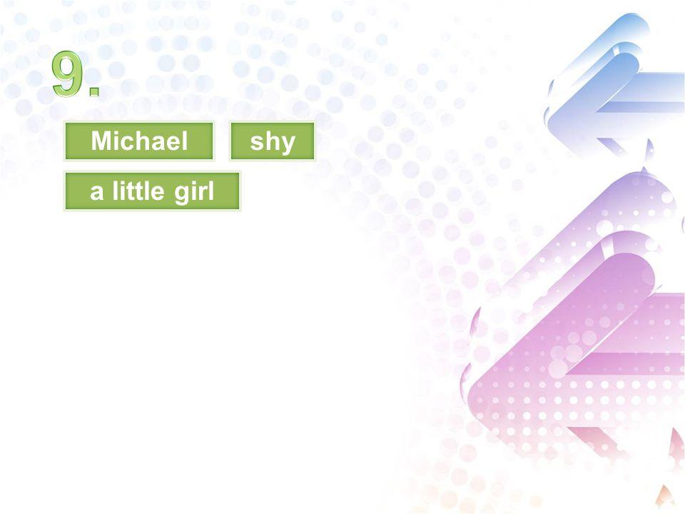 Michaelshy a little girl