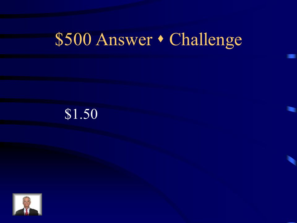 $500 Question  Challenge A group of students go out for lunch.