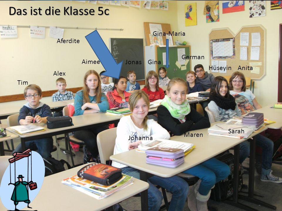 Copyright © Wondershare Software Das ist die Klasse 5c Johanna Maren Tim Alex Anita Sarah Hüseyin German Gina-Maria GinaJonas Aimee Aferdite