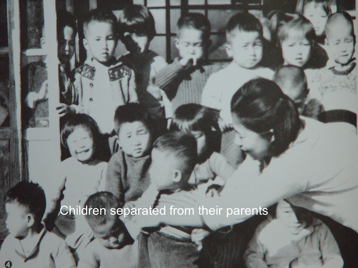 Children separated from their parents