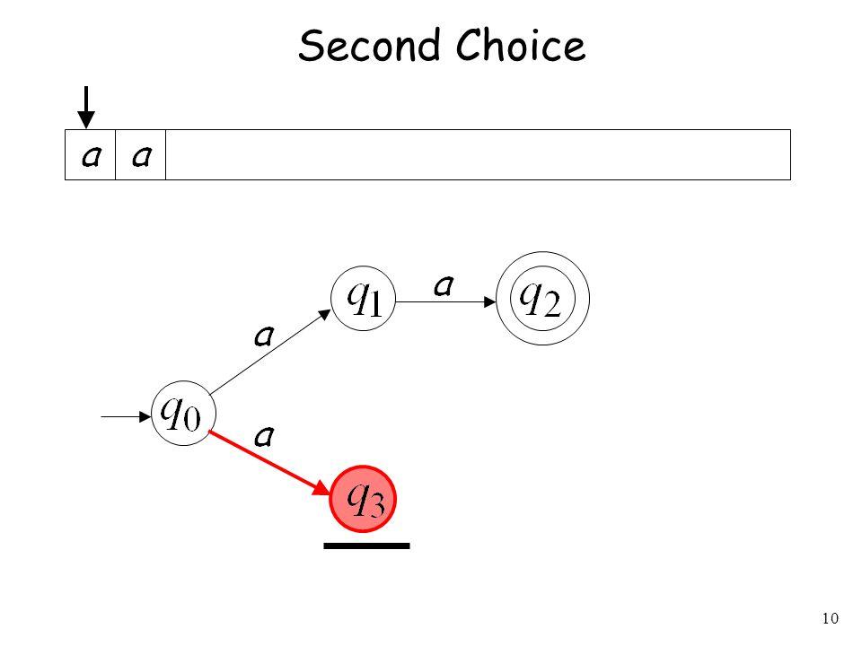10 Second Choice