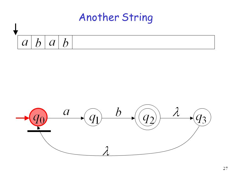 27 Another String