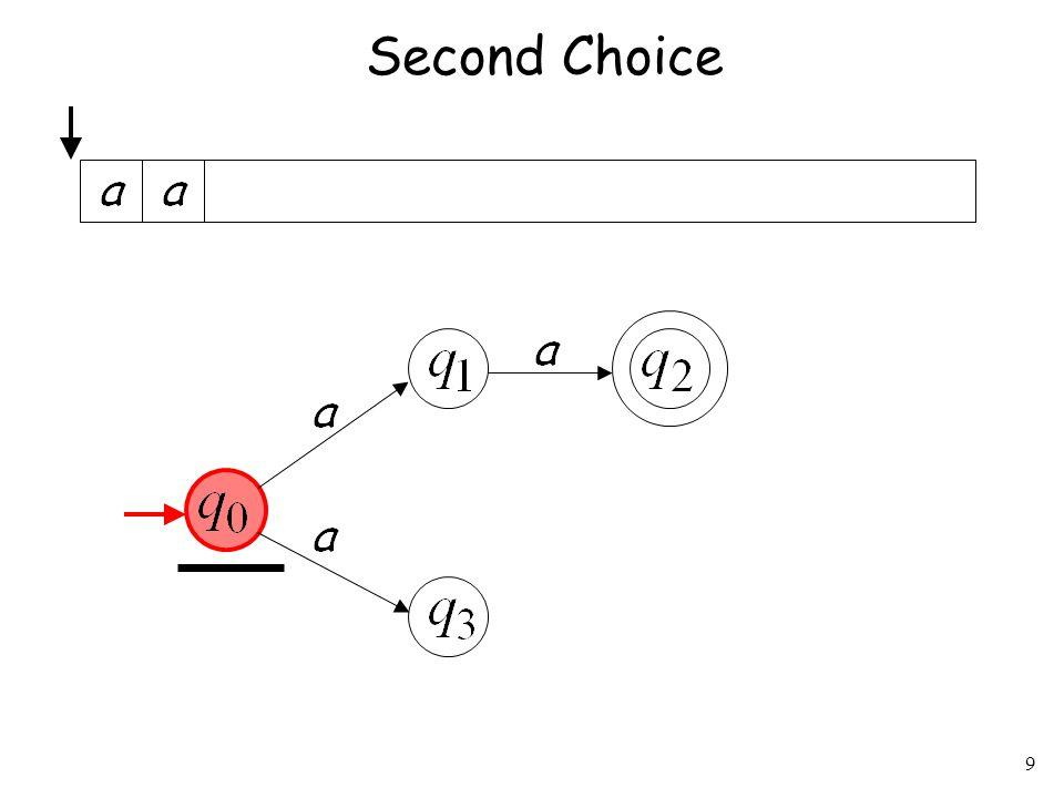 9 Second Choice