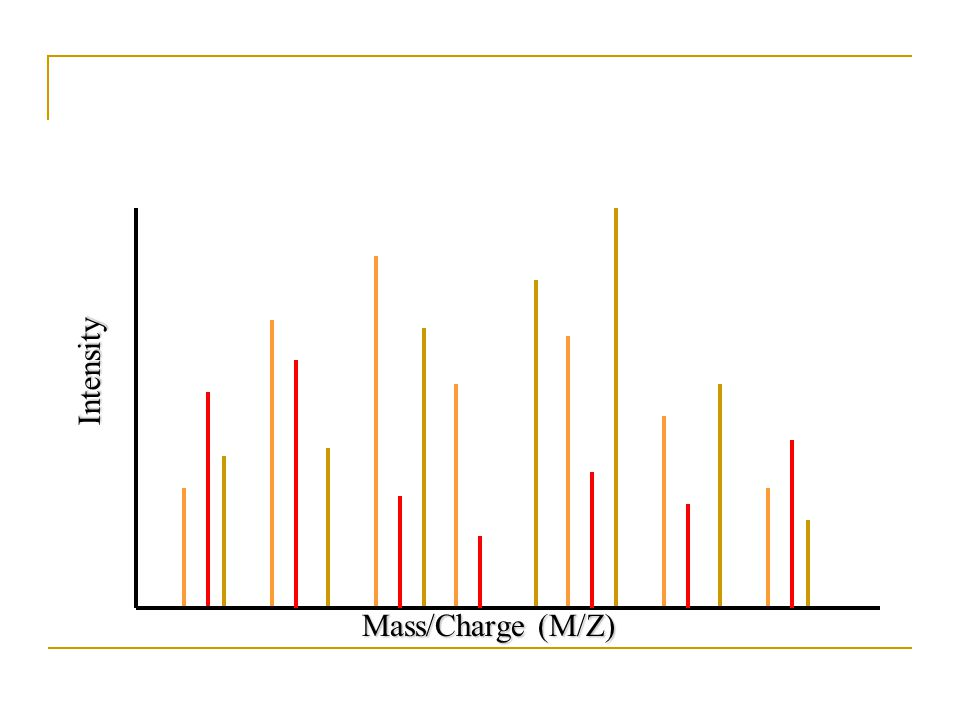 Mass/Charge (M/Z) Intensity