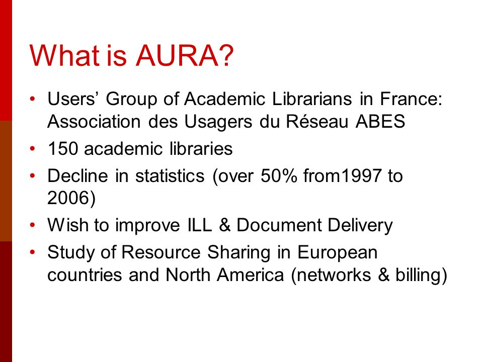 What is AURA.