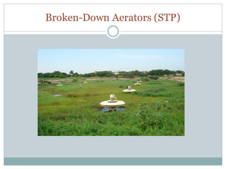 Broken-Down Aerators (STP)