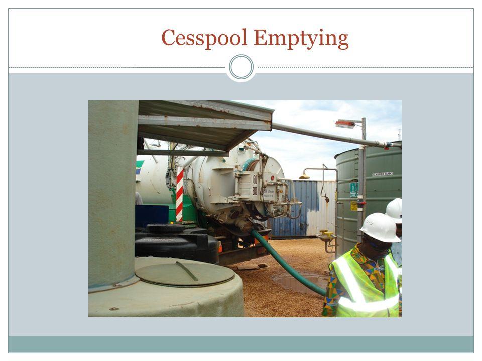 Cesspool Emptying