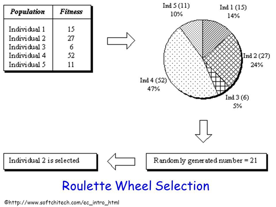 Roulette Wheel Selection ©http://www.softchitech.com/ec_intro_html