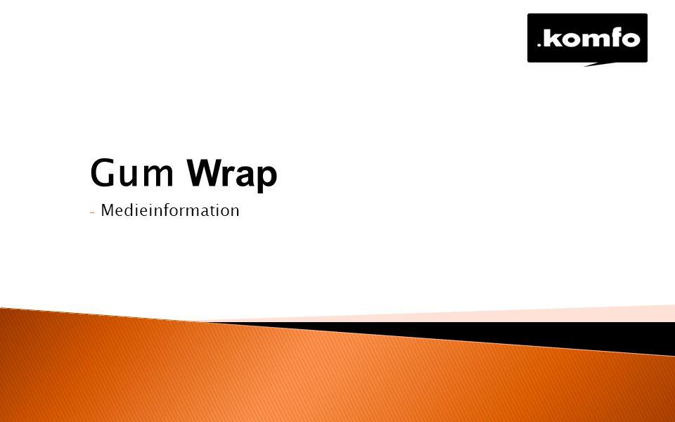 - Medieinformation Gum Wrap