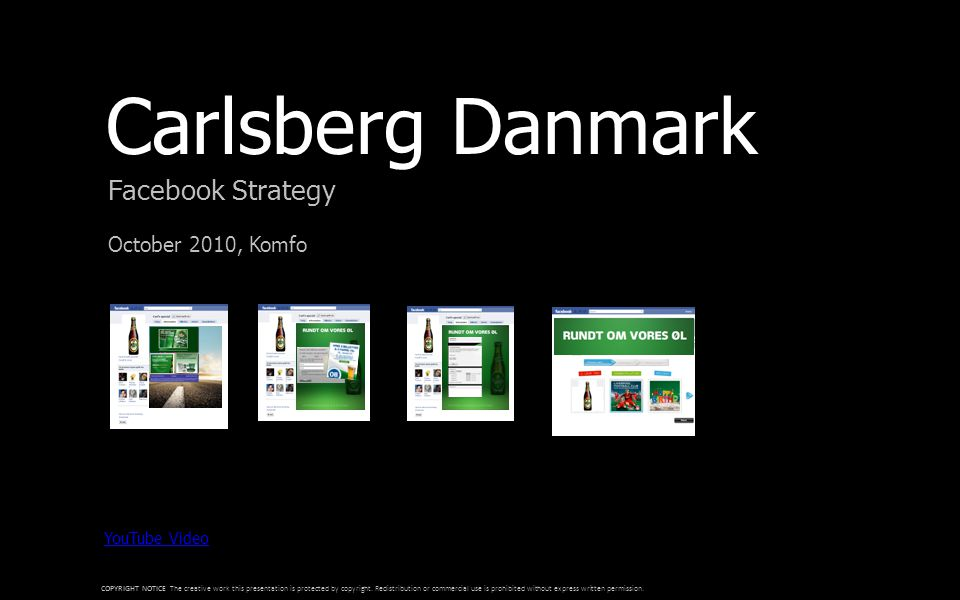 Preferred Facebook Developer Strategi for co-branding Roskilde Festival F.C.