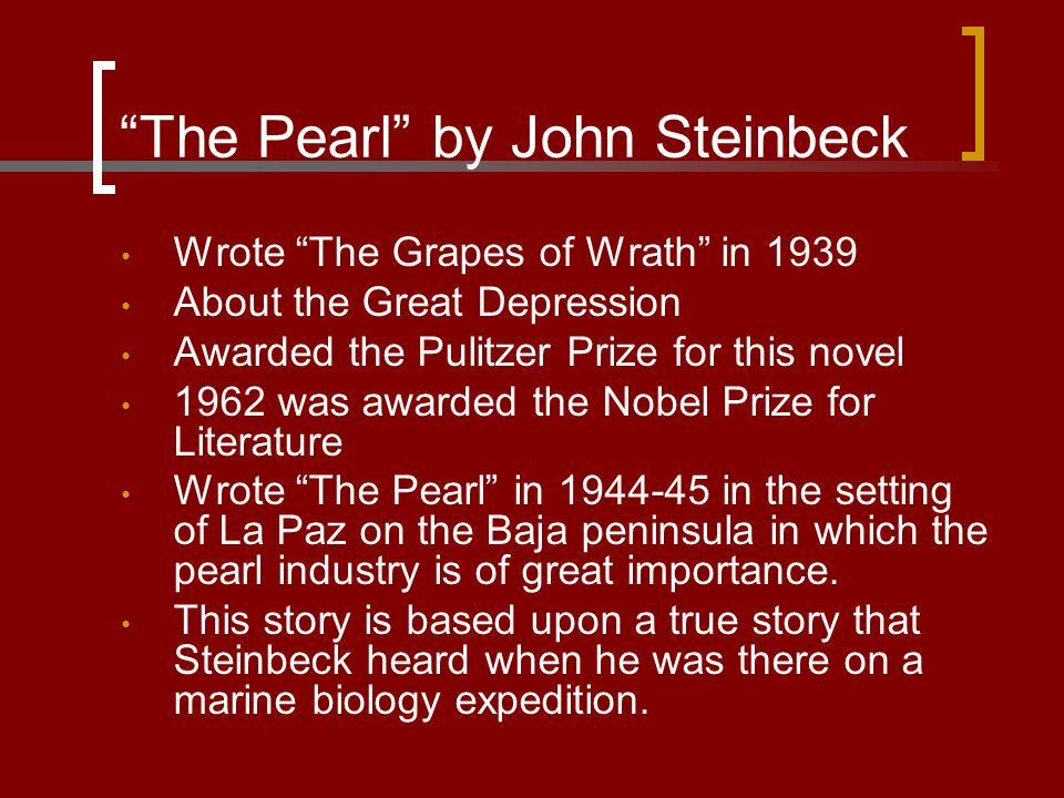 The Pearl by John Steinbeck C.Kino's Canoe 1.