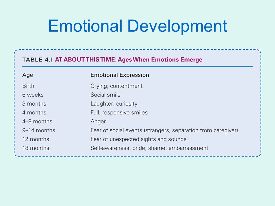 Easy (40%) Difficult (10%) Slow to warm up (15%) Hard to classify (35%) Additional findings: Temperament often changes in the early weeks but is increasingly stable by age 3 Extreme temperaments at age 3 tend to carry over to adolescence and young adulthood Parenting practices are crucial, temperament can change or be changed Theories of Infant Psychosocial Development