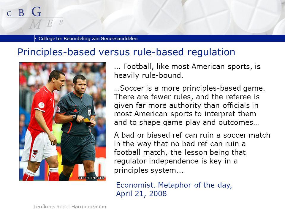 College ter Beoordeling van Geneesmiddelen Leufkens Regul Harmonization … Football, like most American sports, is heavily rule-bound.