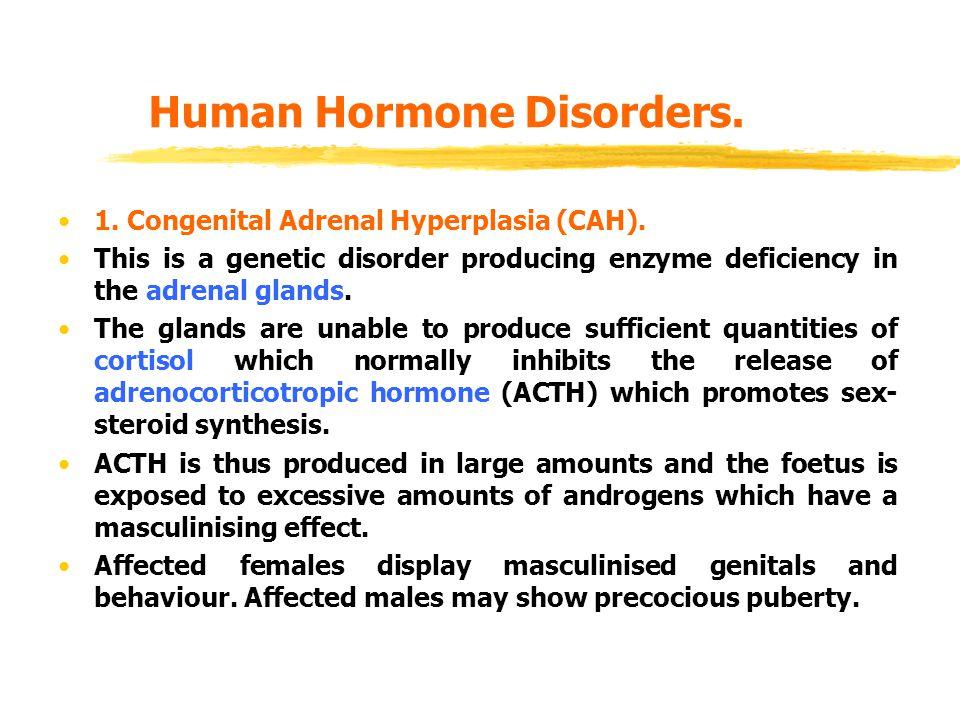 Human Hormone Disorders.1. Congenital Adrenal Hyperplasia (CAH).