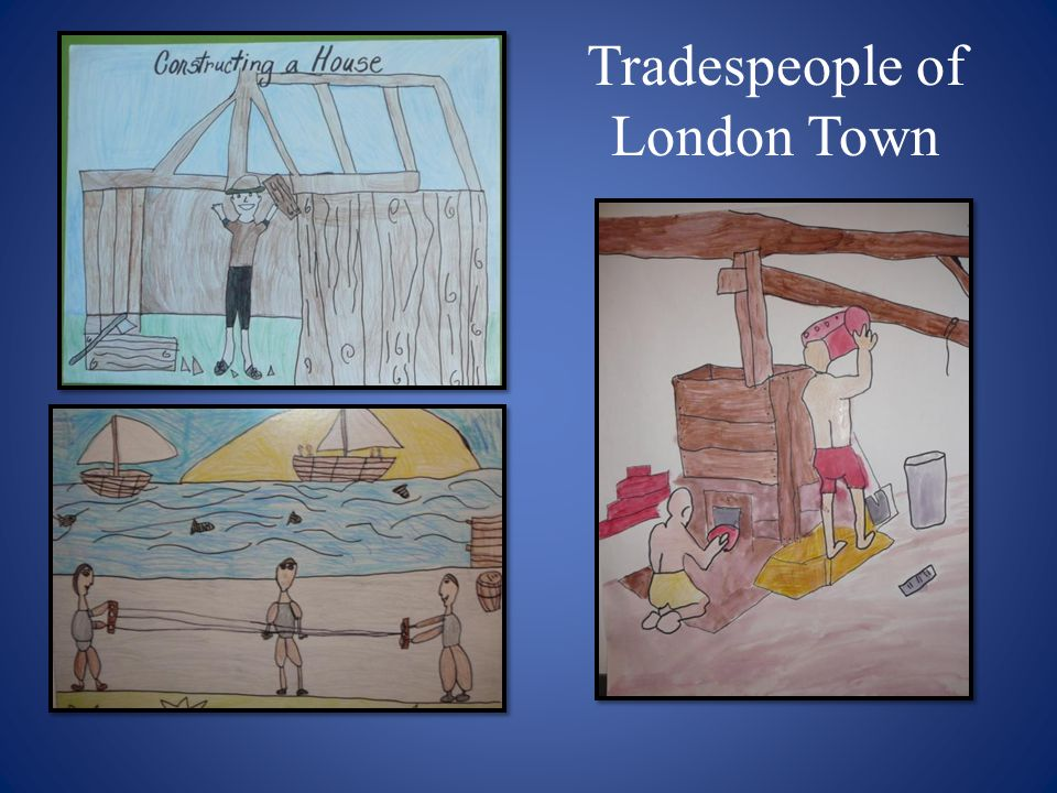 Tradespeople of London Town