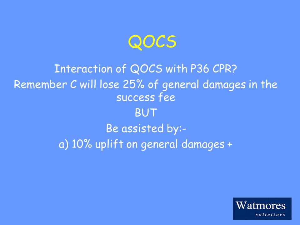 QOCS Interaction of QOCS with P36 CPR.